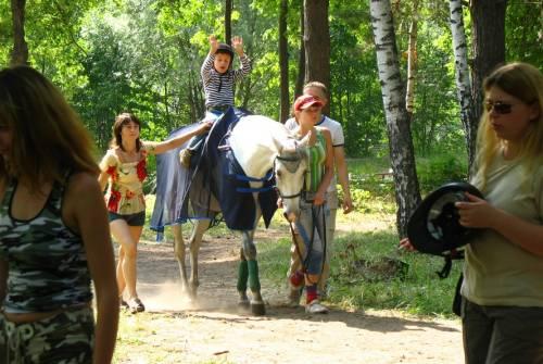 иппотерапия, летние лагеря, Велегож